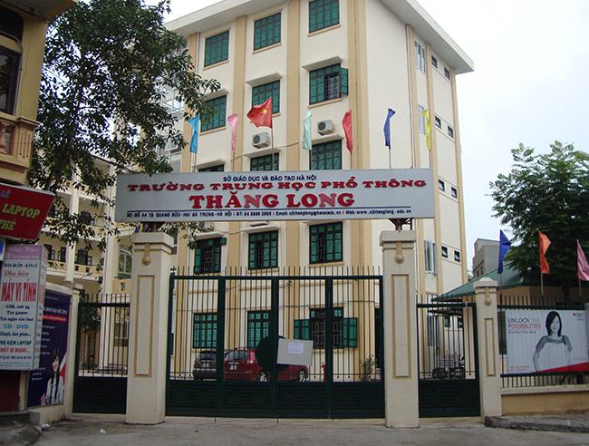 Thăng Long - Trường THPT công lập quận Hai Bà Trưng, Hà Nội (Ảnh: Gia Sư Sư Phạm)