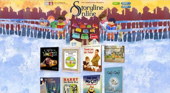 storylineonline.net - kênh truyện thiếu nhi tiếng Anh