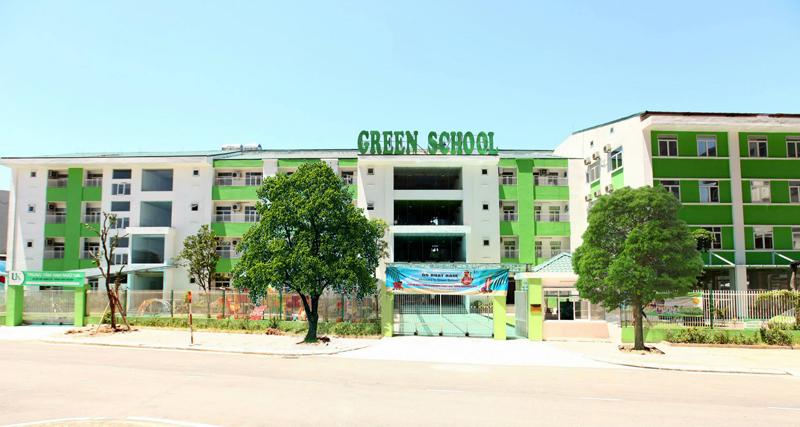 Cơ sở vật chất trường mầm non Green School, quận Hoàng Mai, Hà Nội (Ảnh: website trường)