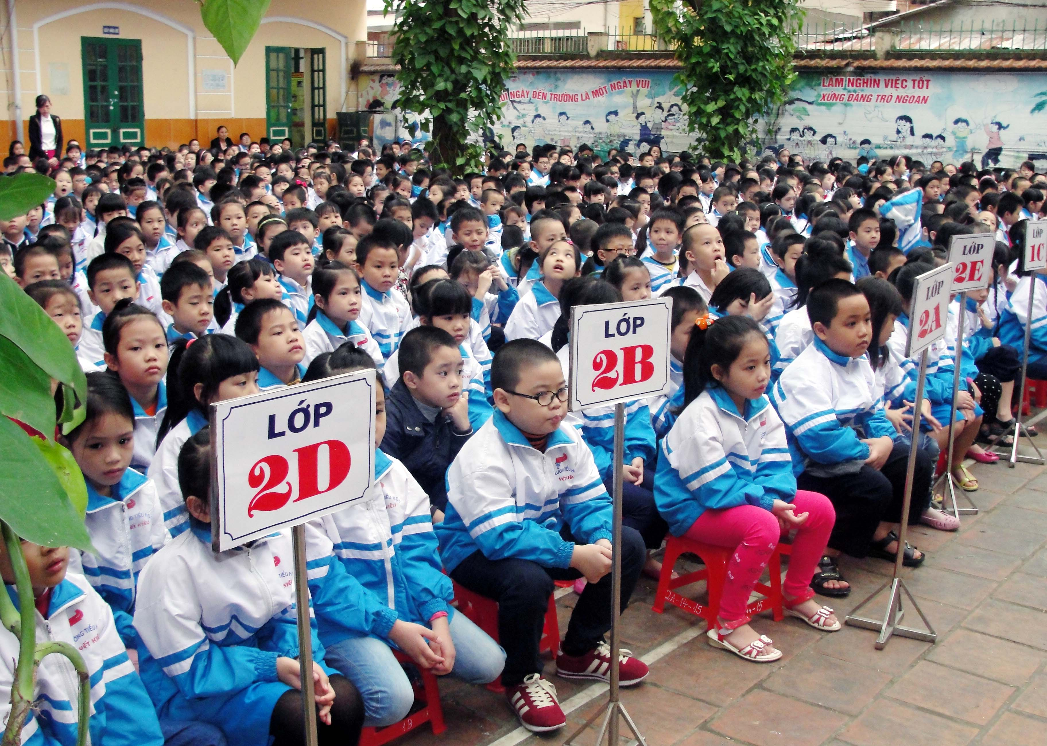Trường Tiểu học công lập quận Hà Đông - Yết Kiêu (Ảnh: Cổng thông tin điện tử quận Hà Đông - Hà Nội)