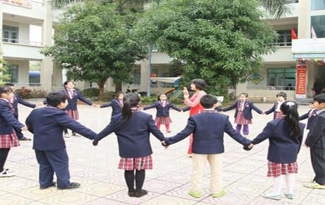 Cơ sở vật chất trường Hà Nội Thăng Long Xa La, trường liên cấp 1, 2 ở quận Hà Đông, Hà Nội (Ảnh: website nhà trường)