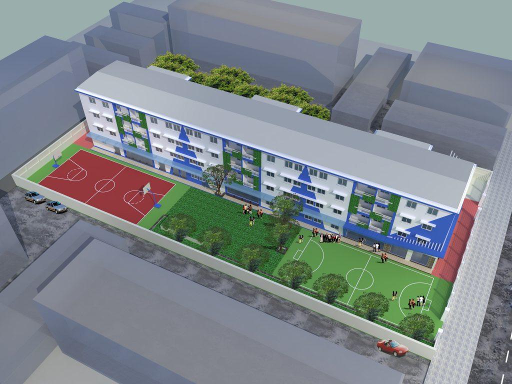 Cơ sở vật chất trường Hanoi Adelaide (H.A.S) - hệ thống giáo dục liên cấp Tiểu học, THCS, THPT tại quận Đống Đa, Hà Nội (Ảnh: website nhà trường)