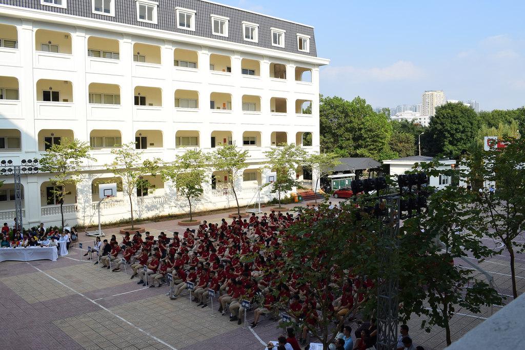 Cơ sở vật chất trường THPT Khoa học Giáo dục (HES - Ảnh: website nhà trường)