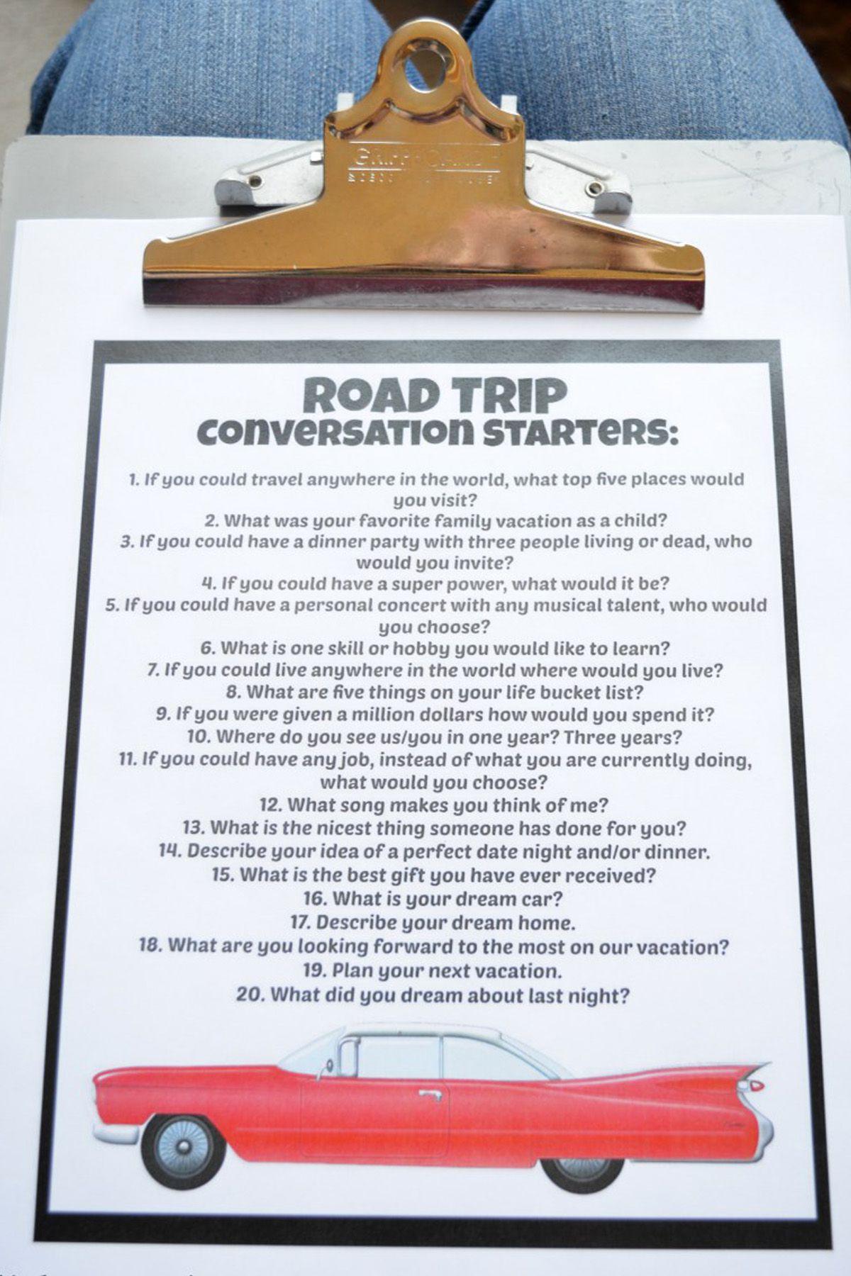 Trò chơi gia đình cho những chuyến đi xa (Ảnh: via GoodHousekeeping)