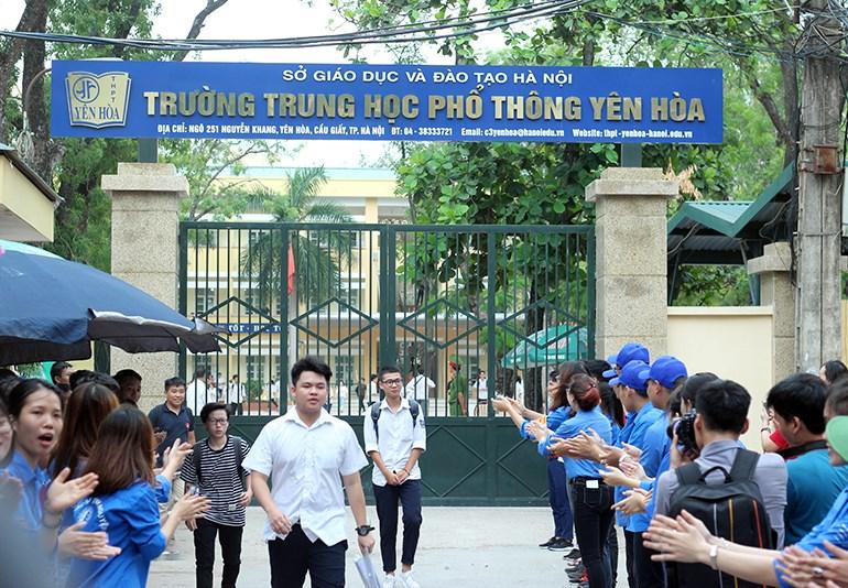 Trường THPT công lập quận Cầu Giấy Yên Hoà (Ảnh: Homeschool247)
