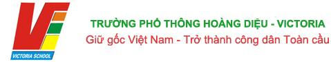 Logo trường Hoàng Diệu - Victoria, quận Hai Bà Trưng, Hà Nội (Ảnh: website nhà trường)
