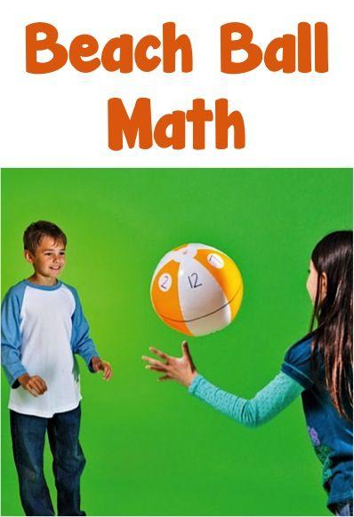 Trò chơi toán học cho bé dịp nghỉ hè (Ảnh: Pinterest)