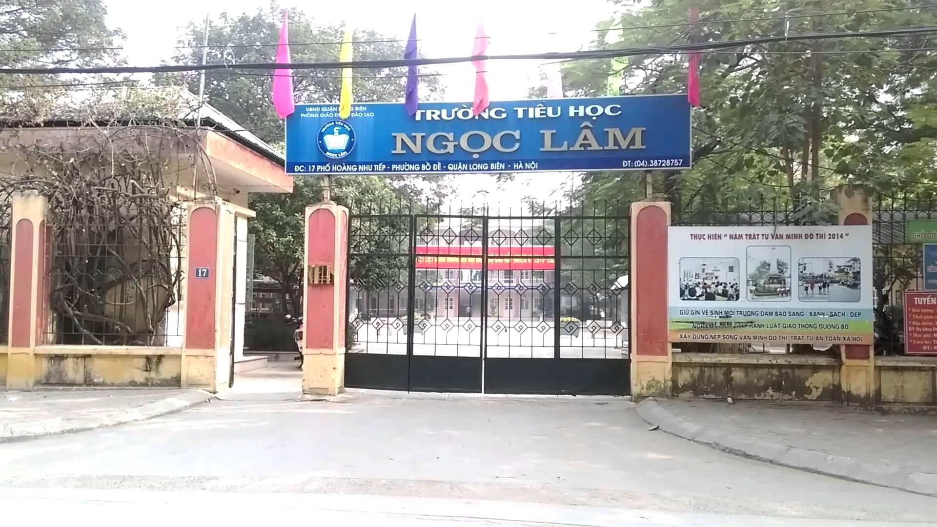 Ngọc Lâm - Tiểu học công lập quận Long Biên - Hà Nội (Ảnh: YouTube)