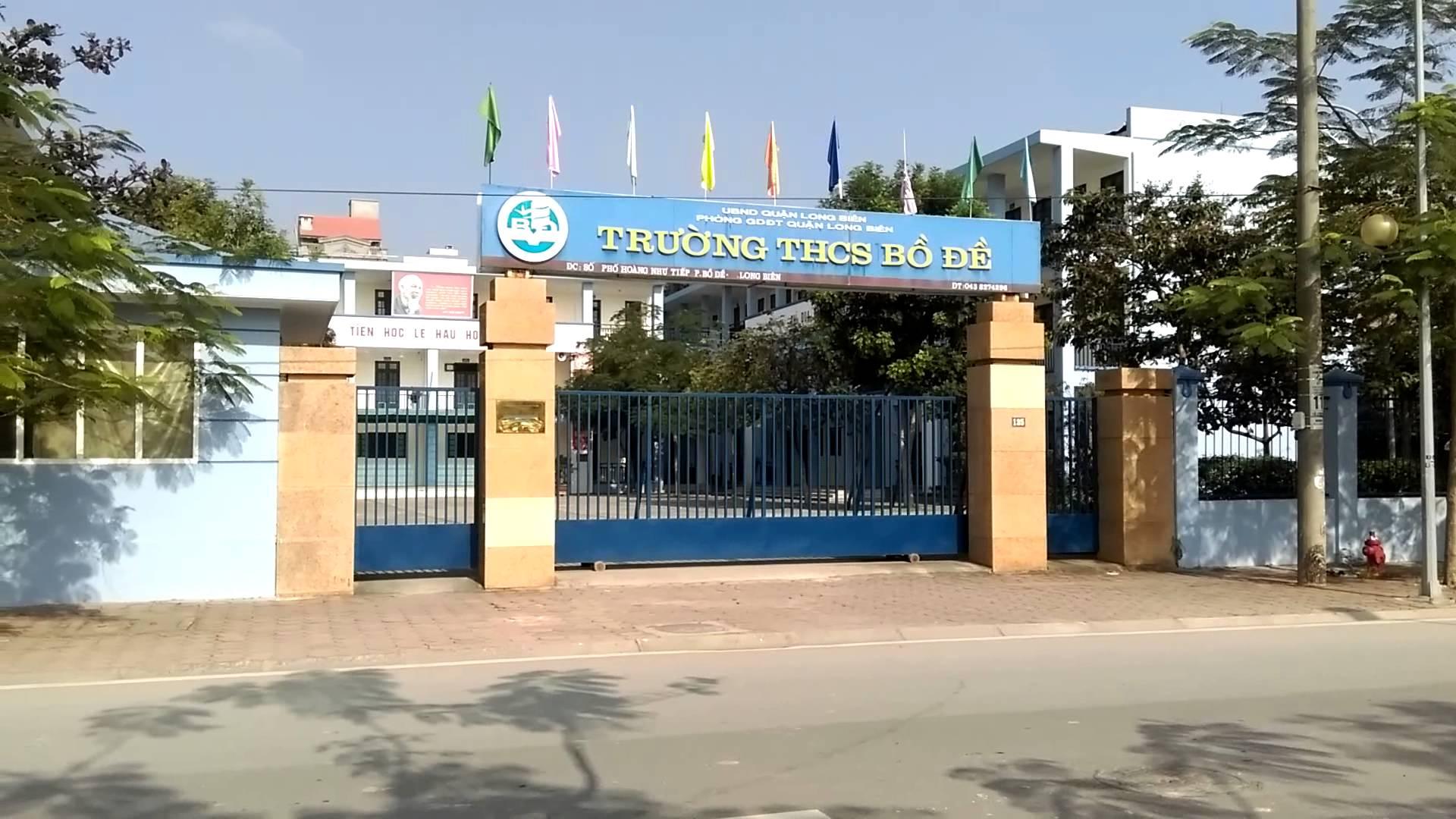 Bồ Đề - Trường THCS công lập quận Long Biên, Hà Nội (Ảnh: YouTube)