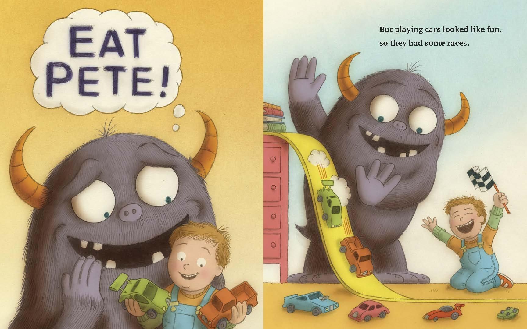 Eat Pete - Sách tranh có twist ending - kết thúc bất ngờ (Ảnh: WeShop)