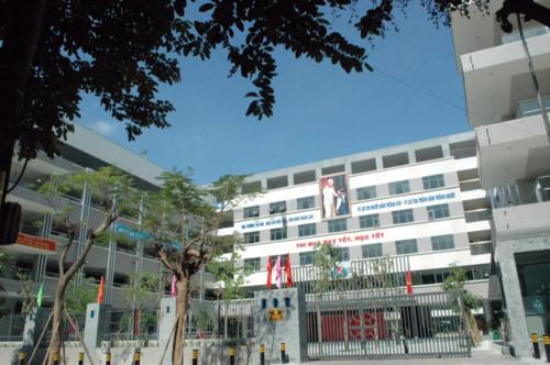 Trường THCS công lập quận Cầu Giấy Mai Dịch (Ảnh: Giáo dục & Thời đại)