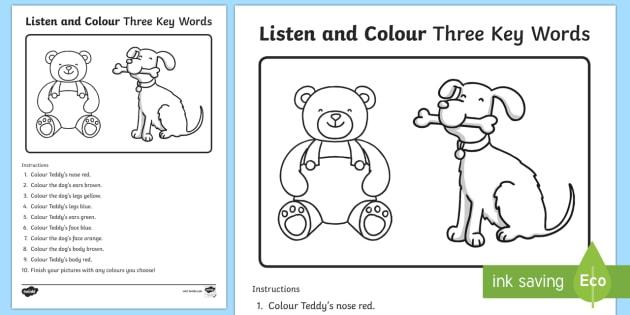 4 bí quyết giúp trẻ làm nhiều bài tập nghe hiểu hơn (Ảnh: twinkl.co.uk)