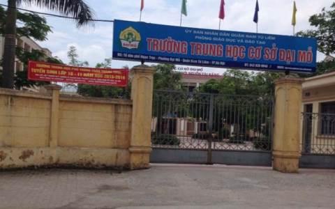 Đại Mỗ - Trường THCS công lập quận Nam Từ Liêm, Hà Nội (Ảnh: Dothi.net)
