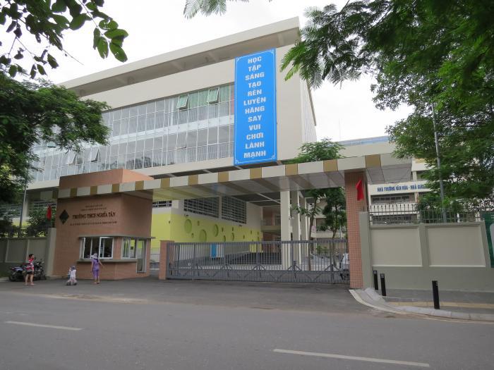 Trường THCS công lập quận Cầu Giấy Nghĩa Tân (Ảnh: Giáo Dục)