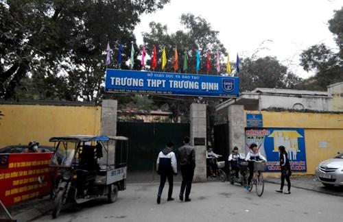 Trương Định - Trường THPT công lập quận Hoàng Mai, Hà Nội (Ảnh: Giáo Dục Việt Nam)