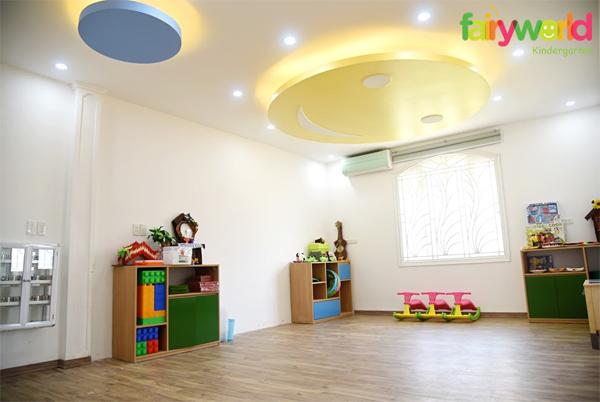 Cơ sở vật chất trường mầm non Fairy World tại quận Tây Hồ, Hà Nội (Ảnh: website trường via Webtretho)