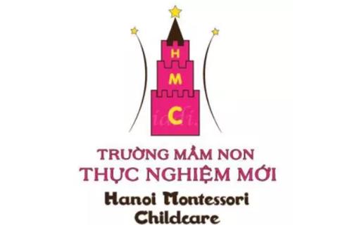 Logo trường mầm non Thực Nghiệm Mới - Ha Noi Montessori Childcare - HMC tại quận Hoàn Kiếm - Hà Nội (Ảnh: KidsOnline)