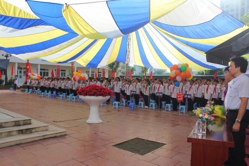 Mậu Lương - Trường THCS công lập quận Hà Đông (Ảnh: website Phường Kiến Hưng - quận Hà Đông)