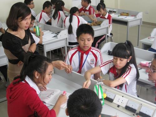 Cơ sở vật chất trường Dân lập Lê Quý Đôn, cấp THCS, quận Nam Từ Liêm, Hà Nội (Ảnh: website nhà trường)