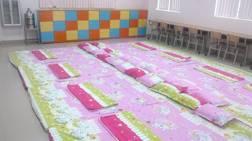 Phòng ngủ trường tiểu học Thăng Long Kidsmart