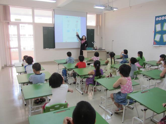 Lớp học trường tiểu học Thăng Long Kidsmart