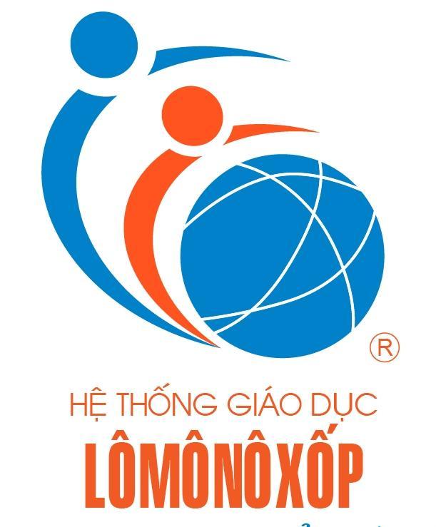 Logo hệ thống giáo dục Lômônôxốp.