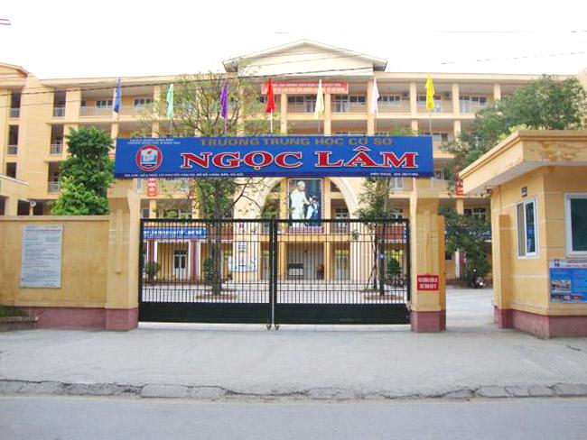 Ngọc Lâm - Trường THCS công lập quận Long Biên, Hà Nội (Ảnh: Nhà đất 24h)