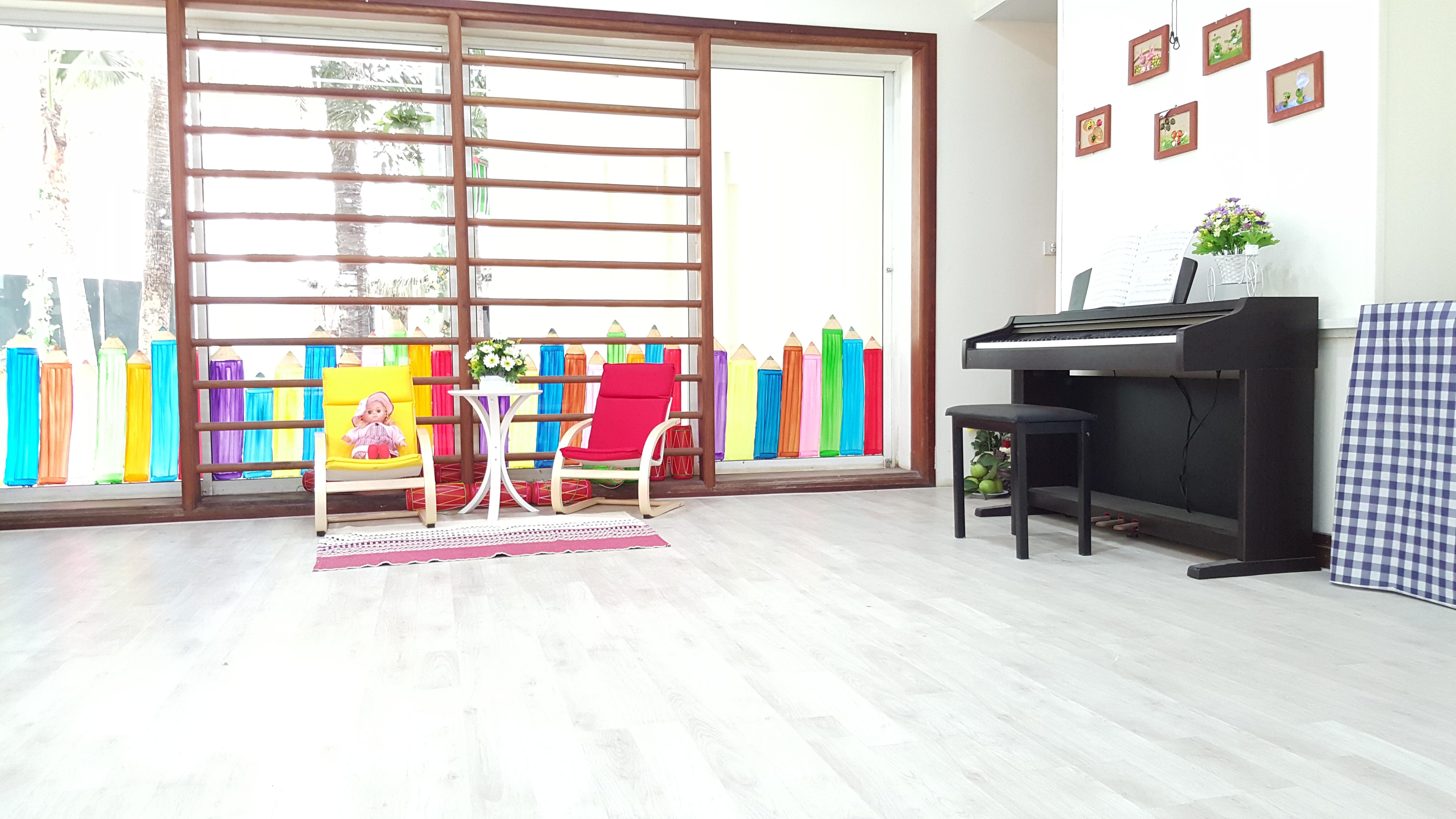 Cơ sở vật chất Học viện mầm non AMI, quận Cầu Giấy, Hà Nội (Ảnh: website)