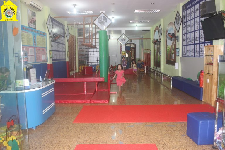 Cơ sở vật chất trường mầm non Bambi House tại quận Thanh Xuân, Hà Nội (Ảnh: website trường)