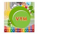 Logo trường mầm non Việt Ý Montessori, quận Hoàng Mai, Hà Nội (Ảnh: website trường)