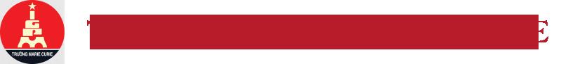 Logo trường Marie Curie Hà Nội