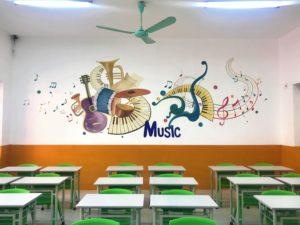Cơ sở vật chất trường Tiểu học và THPT Phương Nam tại quận Hoàng Mai, Hà Nội (Ảnh: website trường)