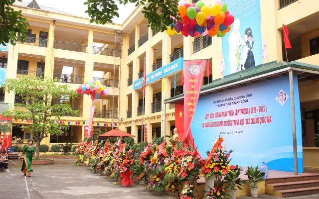 Thành Công - THCS công lập quận Ba Đình - Hà Nội (Ảnh: Foody)