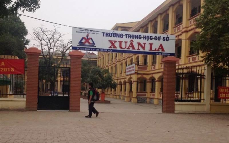 Xuân La - Trường THCS công lập quận Tây Hồ, Hà Nội (Ảnh: Foody)