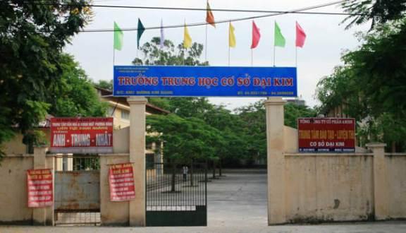 Đại Kim - Trường THCS công lập quận Hoàng Mai - Hà Nội (Ảnh: Foody)