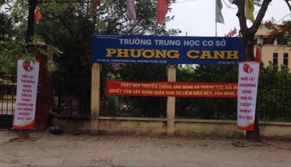 Phương Canh - Trường THCS công lập quận Nam Từ Liêm, Hà Nội (Ảnh: Foody)