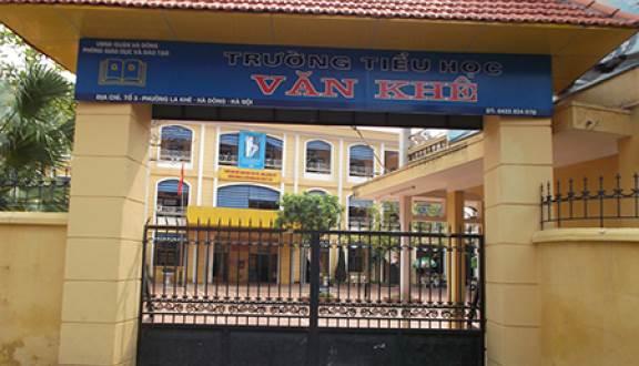 Trường Tiểu học công lập quận Hà Đông, Văn Khê (Ảnh: Foody)