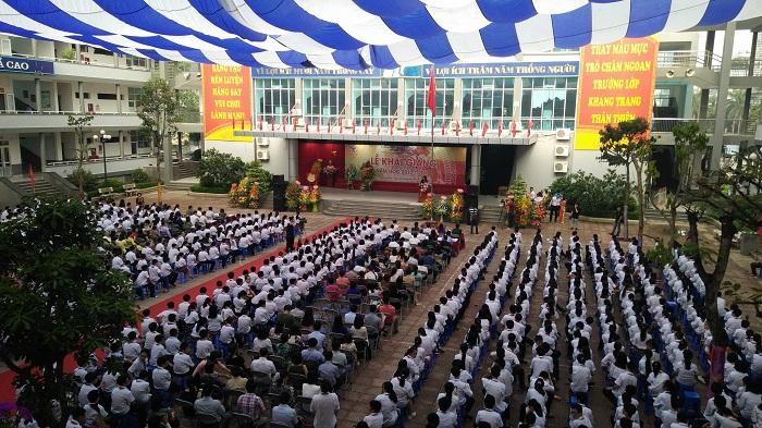 Cơ sở vật chất trường THCS Cầu Giấy, trường công lập chất lượng cao quận Cầu Giấy, Hà Nội (Ảnh: Gia đình Việt Nam)