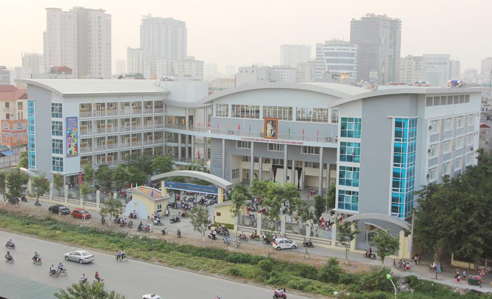Trường Tiểu học Yên Hoà, Cầu Giấy (Ảnh: Kinh tế Đô thị)