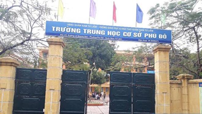 Phú Đô - Trường THCS công lập quận Nam Từ Liêm, Hà Nội (Ảnh: Thể Thao Văn Hoá)