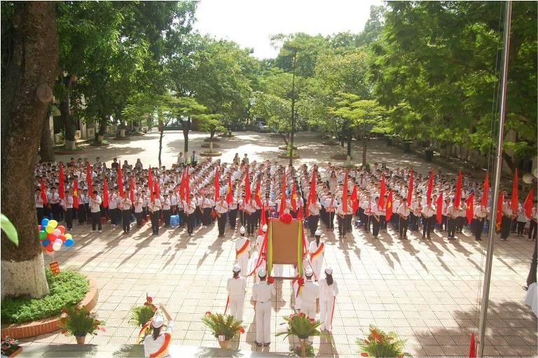 Đông Thái - Trường THCS công lập quận Tây Hồ, Hà Nội (Ảnh: website nhà trường)