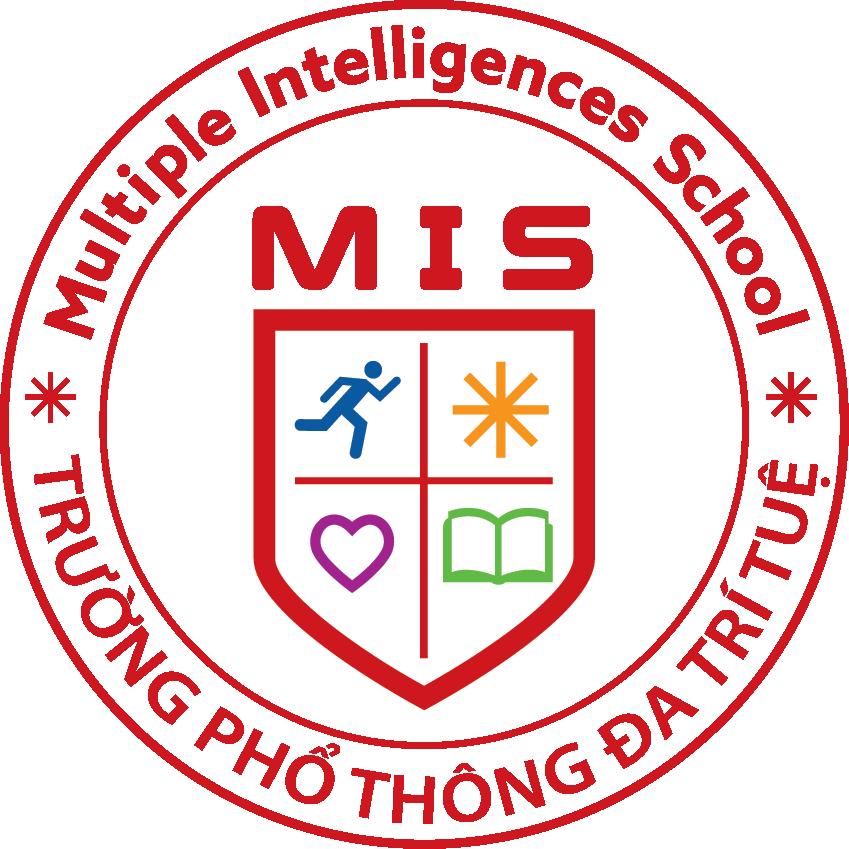 Logo trường phổ thông liên cấp Đa Trí Tuệ - MIS bao gồm các cấp Tiểu học, THCS, THPT tại quận Cầu Giấy - Hà Nội (Ảnh: website trường)