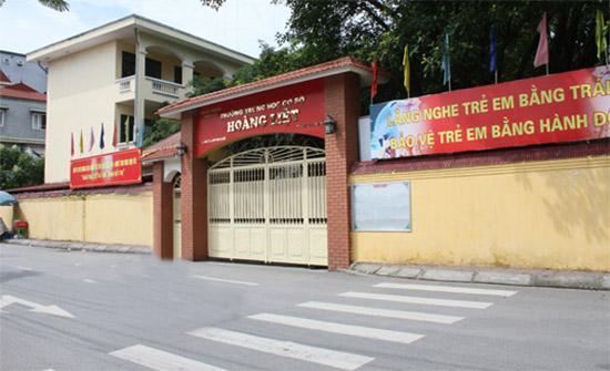 Hoàng Liệt - Trường THCS công lập quận Hoàng Mai - Hà Nội (Ảnh: Nhà đất 24h)