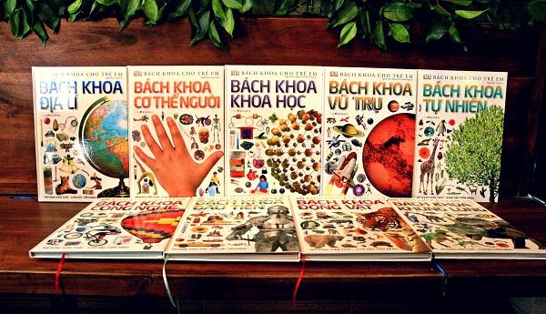 Bộ Bách khoa cho trẻ em - Đông A (Ảnh: Nhà sách Việt)