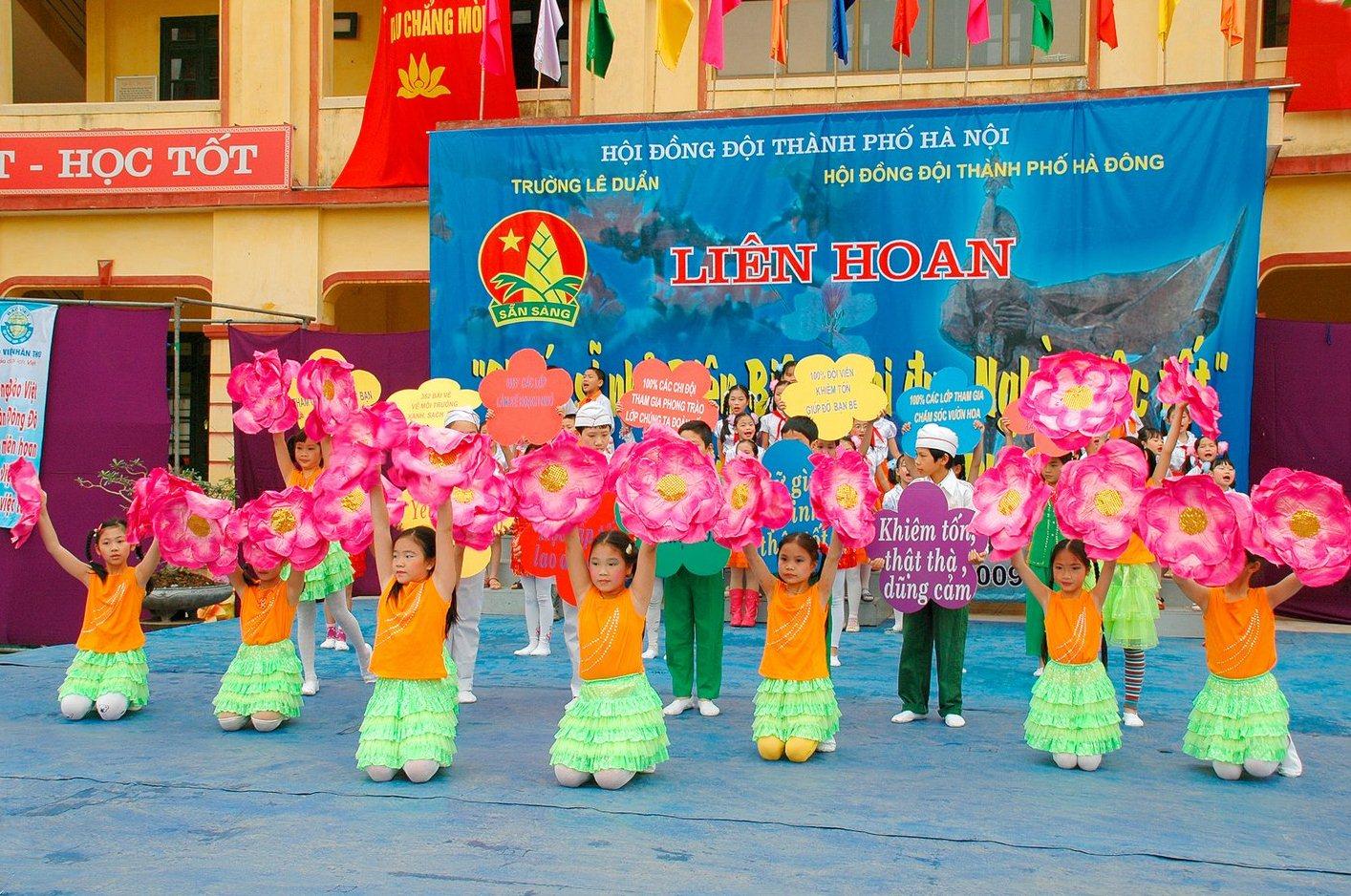 Trường Tiểu học công lập quận Hà Đông - Vạn Phúc (Ảnh: Phòng Giáo dục và Đào tạo quận Hà Đông)
