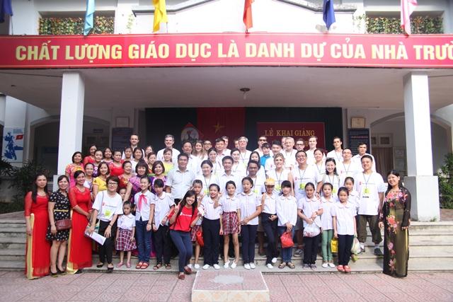 Trường Tiểu học công lập quận Hà Đông - Phú Lãm (Ảnh: Phòng Giáo dục và Đào tạo quận Hà Đông)