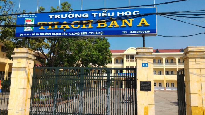Thạch Bàn A - Tiểu học công lập quận Long Biên - Hà Nội (Ảnh: Wikimapia)