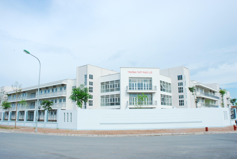 Phúc Lợi - Trường THPT công lập quận Long Biên, Hà Nội (Ảnh: Cổng thông tin điện tử Phường Phúc Lợi - Quận Long Biên)