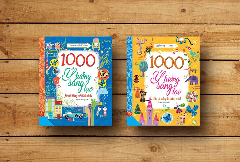 1000 ý tưởng sáng tạo (Ảnh: PiBook)