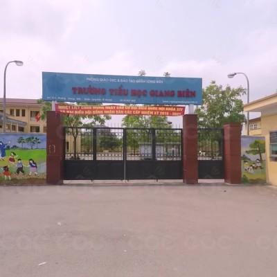 Giang Biên, Tiểu học công lập quận Long Biên, Hà Nội (Ảnh: Cốc Cốc)